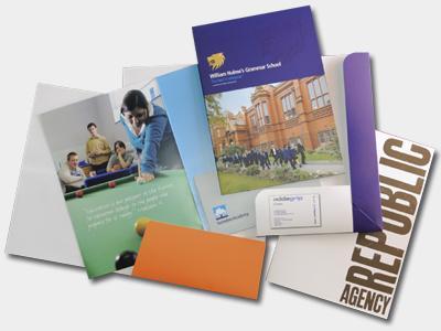 Presentation folders from Folders4u