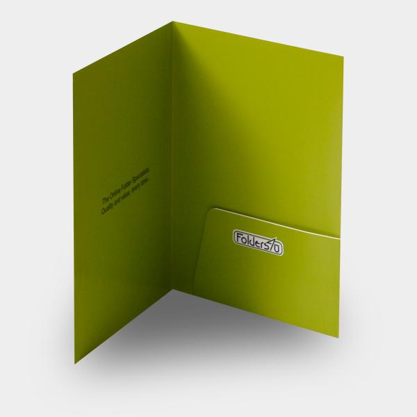 A5 folder with glue-fixed pocket, code FA5_103